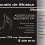 Escuela de música Montevideo.