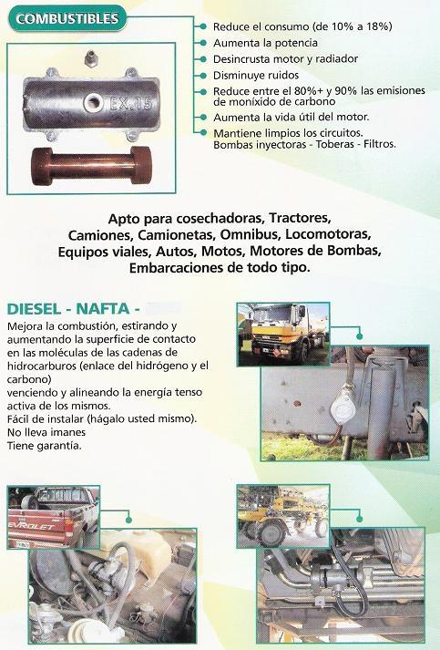 Catalizador de combustibles