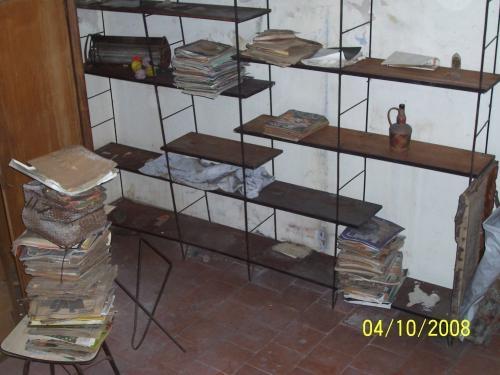 Biblioteca de hierro y madera en montevideo uruguay muebles - Muebles hierro y madera ...