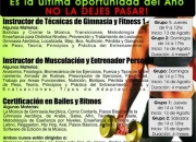 Curso de Instructor de Técnicas de Gimnasia y Fitness