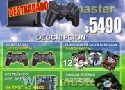 Play 2 nuevos destrabado +12 dvd +2 controles 8 meses de garantia $5490 tel: 628 1175