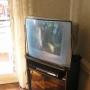 TV 21 pulgadas y rack opcional