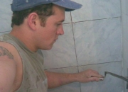 trabajo de pintor y albañil