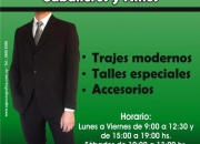 ALQUILER DE TRAJES DE HOMBRES Y NIÑOS. TELS.2400 0333 - 094 858 793