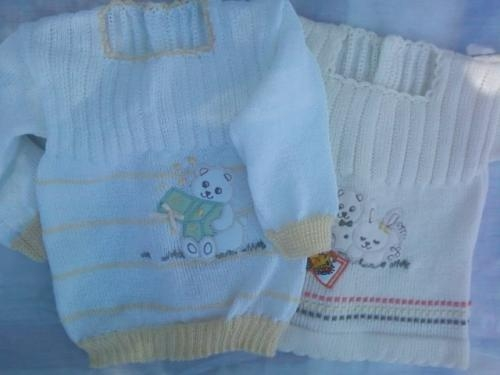 fabricamos ropa de bebe hilo y dralon con bordados en Canelones . 4a82445073cb