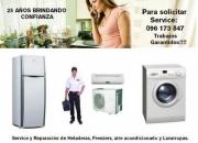 Reparación de Lavarropas, Lavavajillas, Secarropas y Refrigeración Total!!!