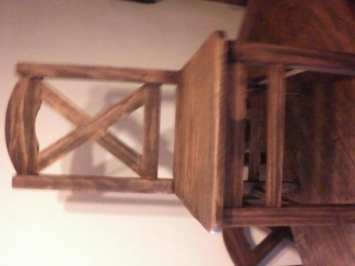 Sillas rusticas tapizadas: silla de madera haya respaldo diseño ...