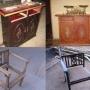 lustrados, laqueados, barnices, patinas, decape, cambio de tonos, en todo tipo de muebles nuevos o antiguos, y aberturas en gral. precios razonables para todos! y especiales para arquitectos y carpint