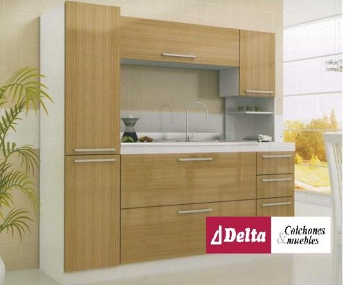 Kit de cocina economicos y funcionales en delta muebles en for Modulos de cocina en kit baratos
