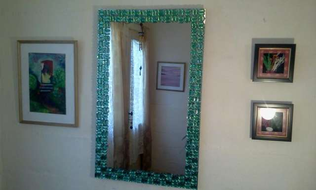Espejos ikea decorados marco espejo ikea decorado for Marcos decorados para espejos