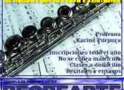 Clases de Flauta en Escuela de Música y Artes RECREARTE