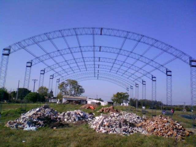 Estructuras metalicas techos estructuras metalicas techos for Techos sin estructura para casa