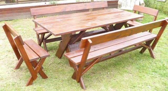 Carpinter a el retorno muebles r sticos y de campo en - Muebles rusticos de campo ...