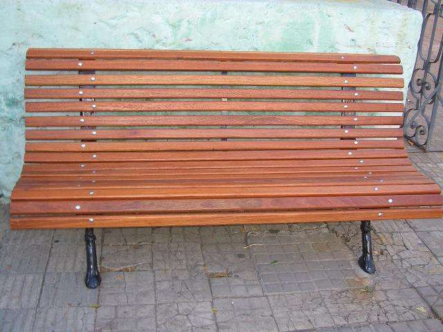 Bancos de madera para exterior banco de madera para jardn terraza asiento para exterior silla - Banco madera exterior ...