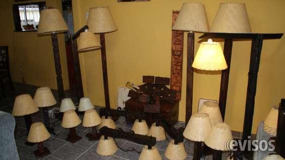 anuncio publicado hace ms de das vea anuncios mas recientes lamparas rusticas en madera