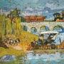 Vendo obras (oleo) del pintor Jorge Centurión