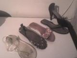 Vendo mas de 15 pares de sandalias para dama talle 38