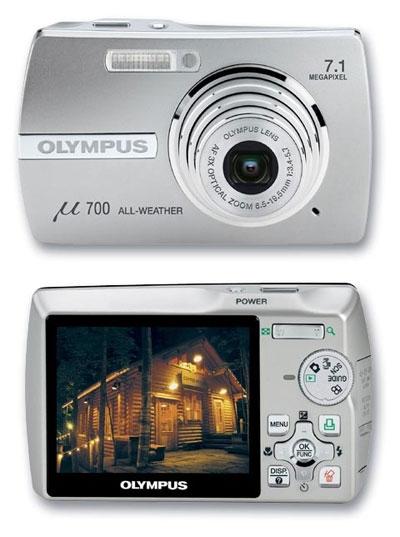 Camara olympus mju710 (7mpx,anti lluvia,pantalla 2'5,zoom 3x,estabilizador,etc...u$200