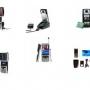 Quad banda giratoria teléfono celular - GSM / GPRS teléfono multimedia