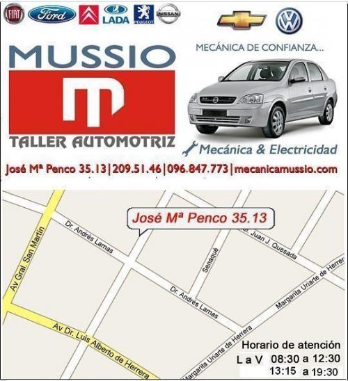 Automotriz mussio. www.mecanicamussio.com reparación de coches