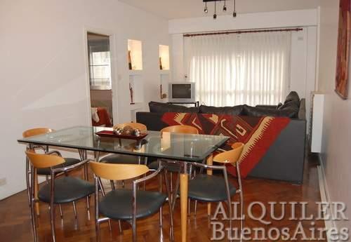 Renta de apartamento amueblado en el centro de buenos aires ( plaza san matín)