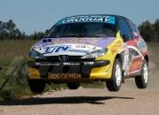 Auto peugeot de rally 206 xs