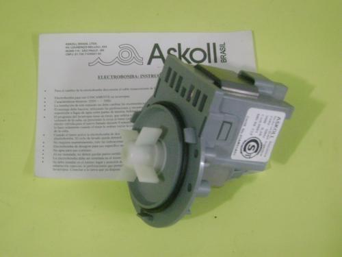 1/2 bomba lavadora askoll