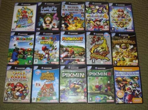 consola de videojuegos nintendo gamecube
