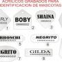 IDENTIFICADORES PARA MASCOTAS EN ACRILICO $140 C/U