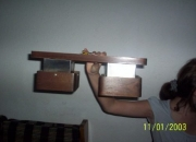 Porta 2 lampara para techo