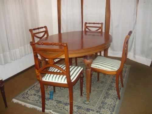 Comedor ingles cedro,mesa, 6 sillas en Durazno - Decoración y jardín ...