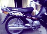 vendo moto  sonik 110 cc
