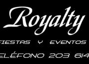 Quinceaños,Bodas,Cumpleaños Infantiles, Royalty Eventos Tel. 203 6147