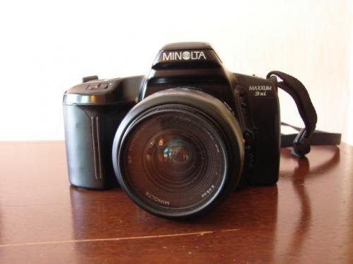 Vendo cámara minolta maxxum 3xi