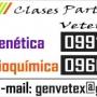 Clases particulares Genetica y Bioquimica- Facultad de Veterinaria