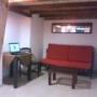 habitacion en calida casa colonial, individual amoblada en optimas condiciones con wifi