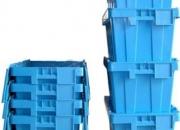 Cajones plásticos con tapa precintable marca rainer