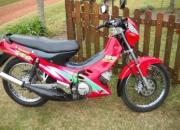 Vendo moto kawasaki leo 15.000 km excelente estado