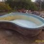 OFERTA: casco de piscina de fibra PARA NIÑOS $ 7.500 / AKESSE,U HORMIGON ARMADO