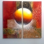 Cuadros modernos, abstractos, minimalistas, dípticos, trípticos