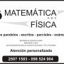 Matemática y Física