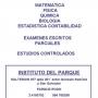 CLASES MATEMATICA FISICA QUIMICA CONTABILIDAD