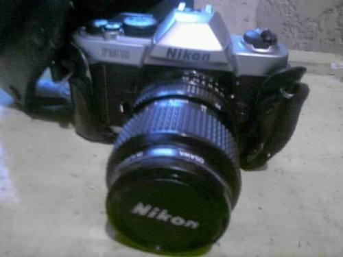 Cámara fotográfica reflex nikon fm 10