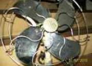 ventilador de mesa antiguo ingles y buzon...