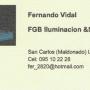 F.G.B Iluminacion & Sonido