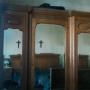 vendo juego dormitorio roble antiguo completo espejos biselados