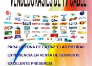 Vendedores/as de tv cable