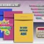 Bolsas de residuos en TNT estampadas con tu logo