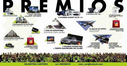 Arquitectura rifa 2012! ganá muchos premios y al mismo tiempo ayúdame a hacer el viaje de mi carrera!