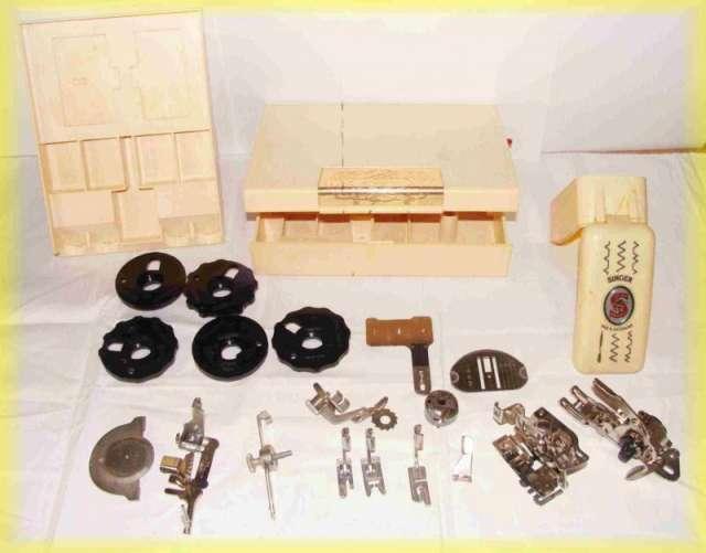 Lote de repuestos maquina de coser singer - (made in switzerland)